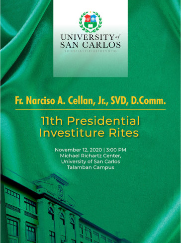 investiture ceremony for fr. narciso a. cellan, svd, d.comm.